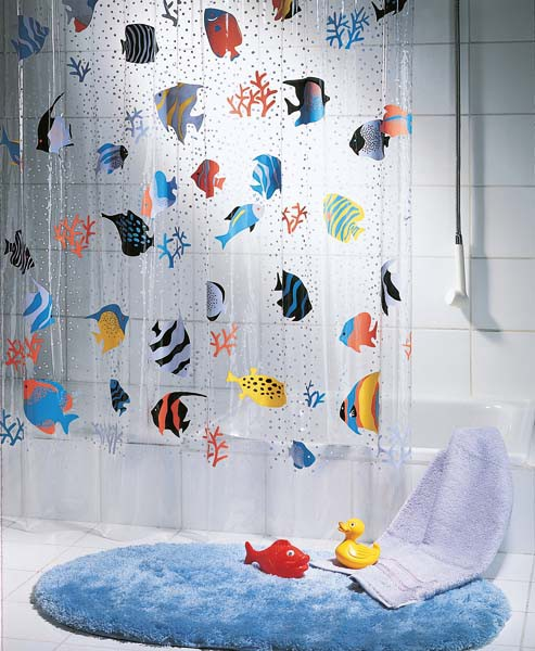 Duschvorhänge Plastik