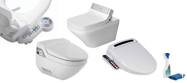 Dusch-WC + Dusch-WC-Aufsätze