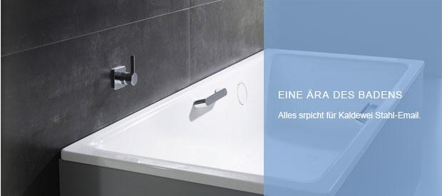 Badewannen mit Duschbereich